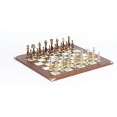 The Gold Chessmen & Champion Board