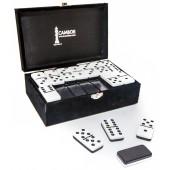 Jumbo Size Double Nine Dominoes Set Two Tone