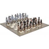 Battle of Gettysburg Chessmen & Superior Chess Board