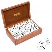 Deluxe Jumbo Size Double Nine Dominoes Set