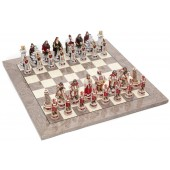 Pisa and Venice Chessmen & Superior Board
