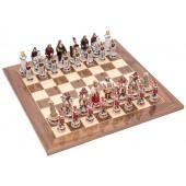 Pisa and Venice Chessmen & Master Board