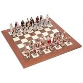 Pisa and Venice Chessmen & Champion Board
