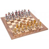Incas and Spanish Chessmen & Master Board
