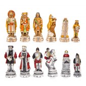 Incas and Spanish Chessmen Made in Italy