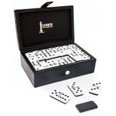 Cambor's Jumbo Size Double Nine Dominoes Set Two Tone Tiles