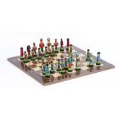 Huszar Chessmen & Master Board