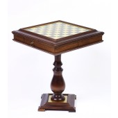 Chess/Checkers & Backgammon Table from Italy