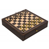 Florentine Staunton & Deluxe Chess Board Case