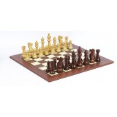 King of Chess Chessmen & Champion Board