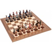 Romans and Egyptians Chessmen & Master Board