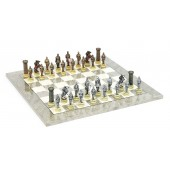 Medieval Chessmen & Superior Board