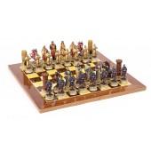 Crusader Chessmen & Master Board