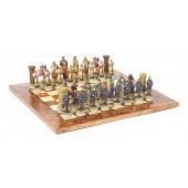 Crusader Chessmen & Exotic Board