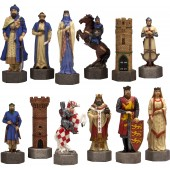 Crusader Chessmen
