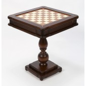Backgammon, Chess, Checkers & Card Table From Italy