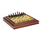French Staunton Chessmen & Cabinet Board