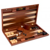 Deluxe Wooden Backgammon