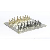 Victorian Chessmen & Superior Board