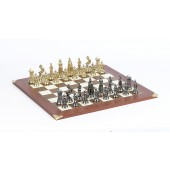 Victorian Chessmen & Champion Board