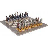 American Civil War Chessmen & Superior Board