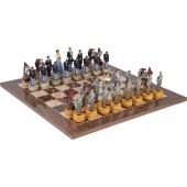 American Civil War Chessmen & Master Board
