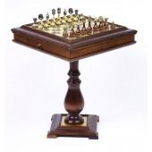 Italian Tournament & Chess, Checkers/Backgammon Table