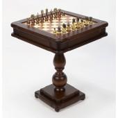 Italian Tournament & Backgammon, Chess/Checkers Table