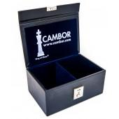 Leatherette Chess Storage Box