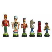 Huszar Chessmen from Hungary